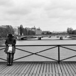 Pont des Arts by Larry E. Fink