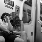 Subway Kiss by Larry E. Fink